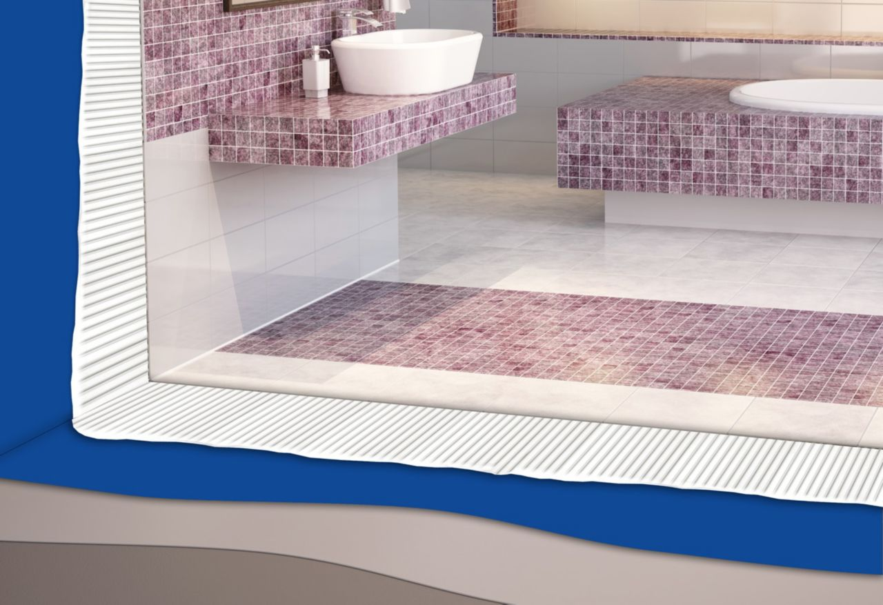 Application of SikTile® Adhesives in wet room