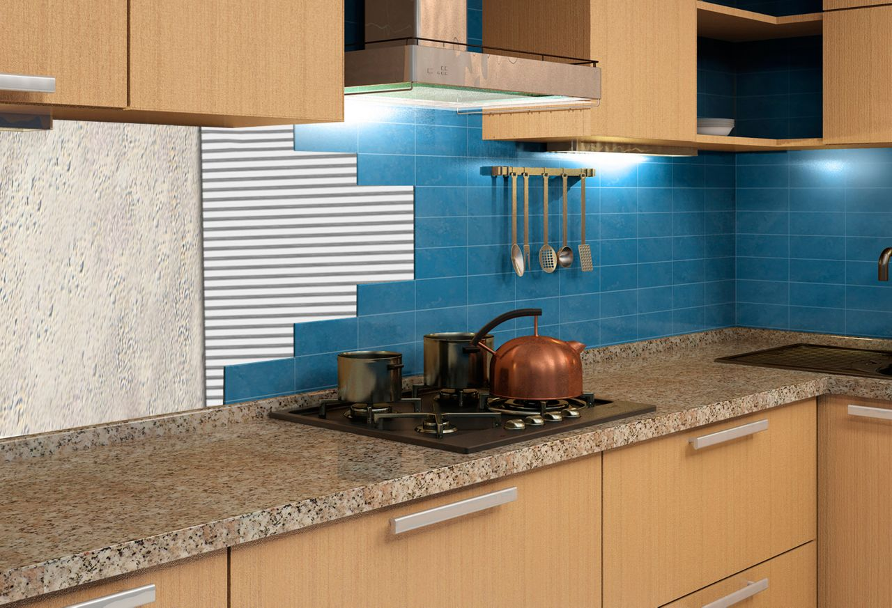 Application of SikTile® Thin Set Tile Adhesives -300 Series in a kitchen