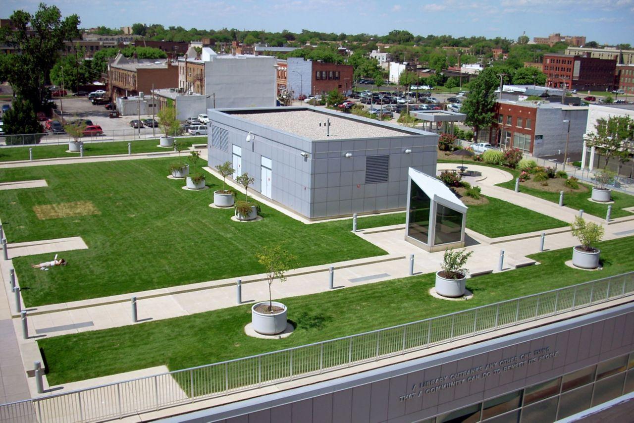 Oaklyn Branch Library Green Roof