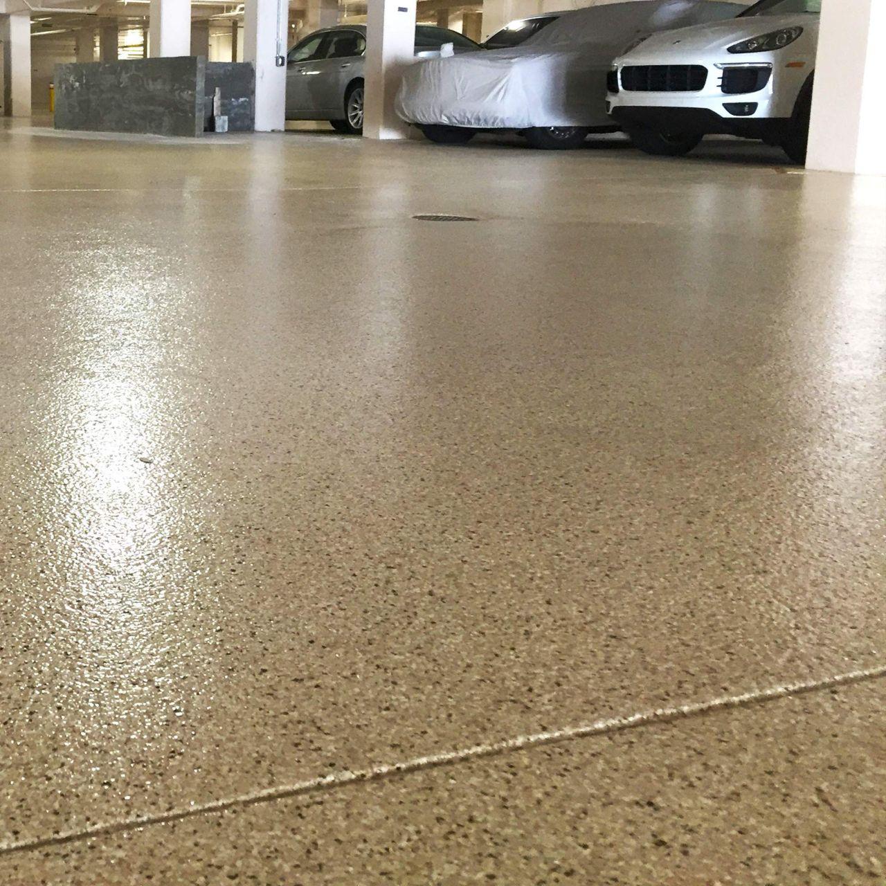 Parking deck membrane