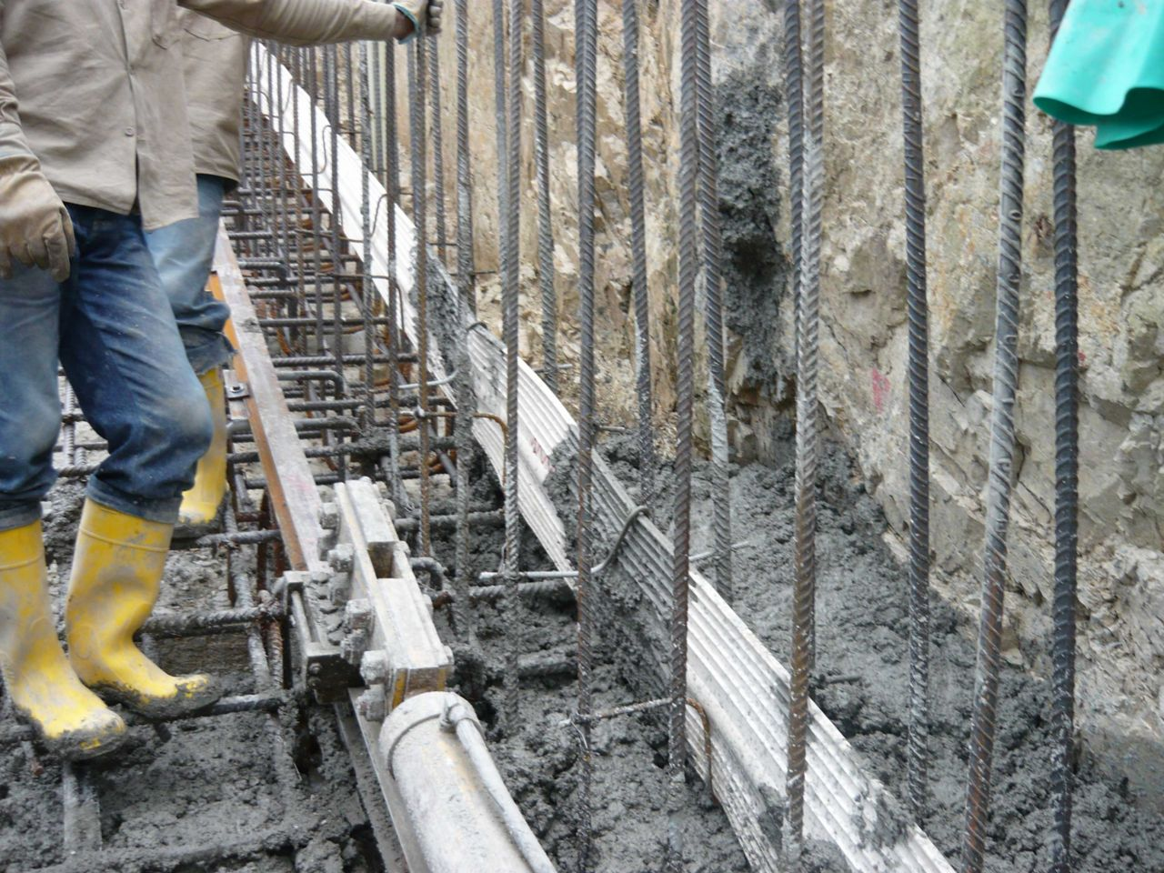 Below Grade Waterproofing Waterstop Membrane