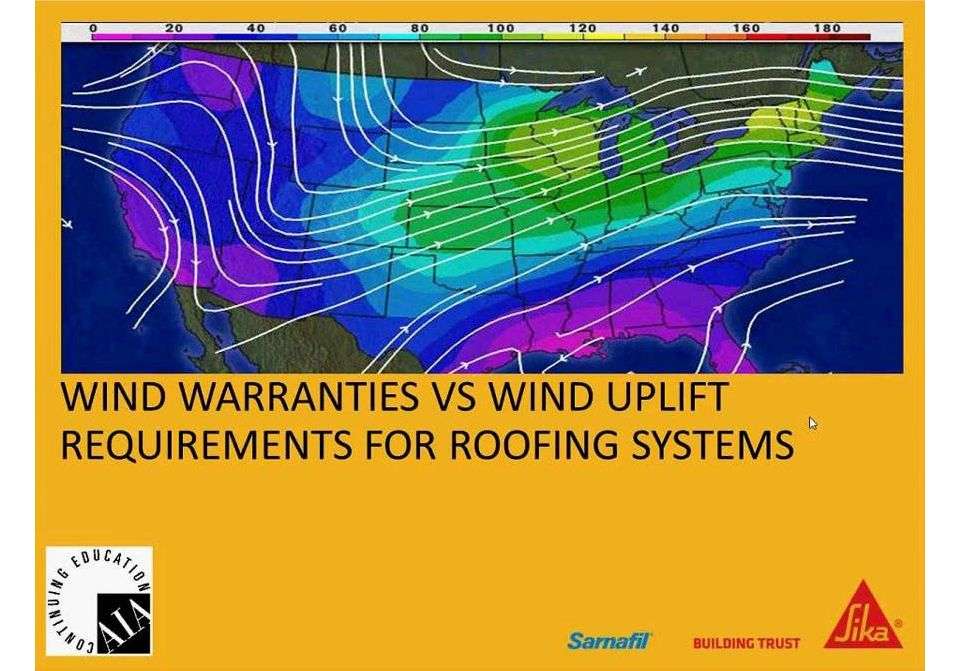 wind warranties webinar