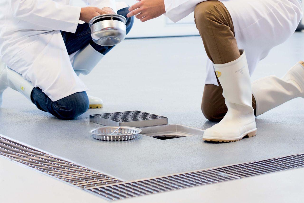 Floor Drain Connection