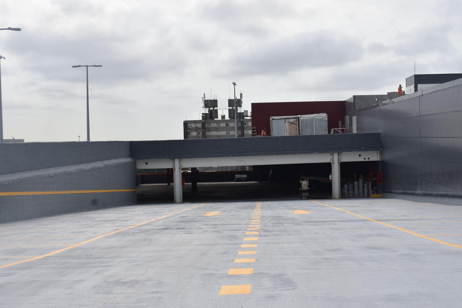 Estacionamiento Nuevo Centro Shopping