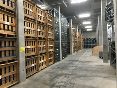 Flooring system for wine estate