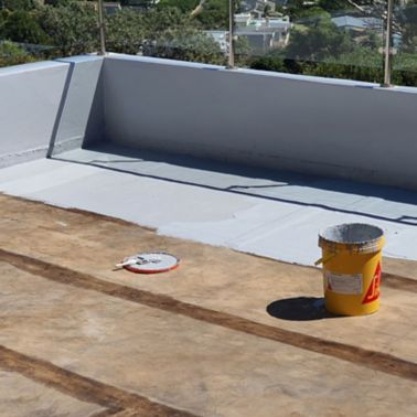 Liquid applied waterproofing solution, for a seamless finish,  for House Apostle's roof.