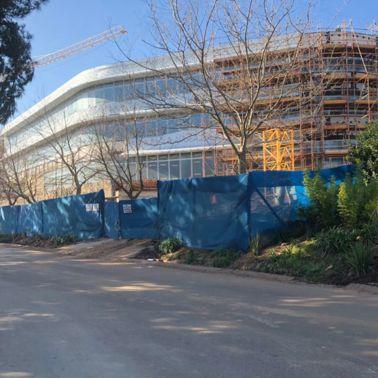 Structural glazing for Capitec bank head Quarters in Stellenbosch