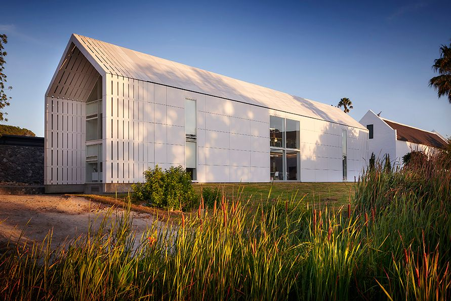 Hazendal Wine Estate revamp with SikaTack Panel Tape for proper adhesion