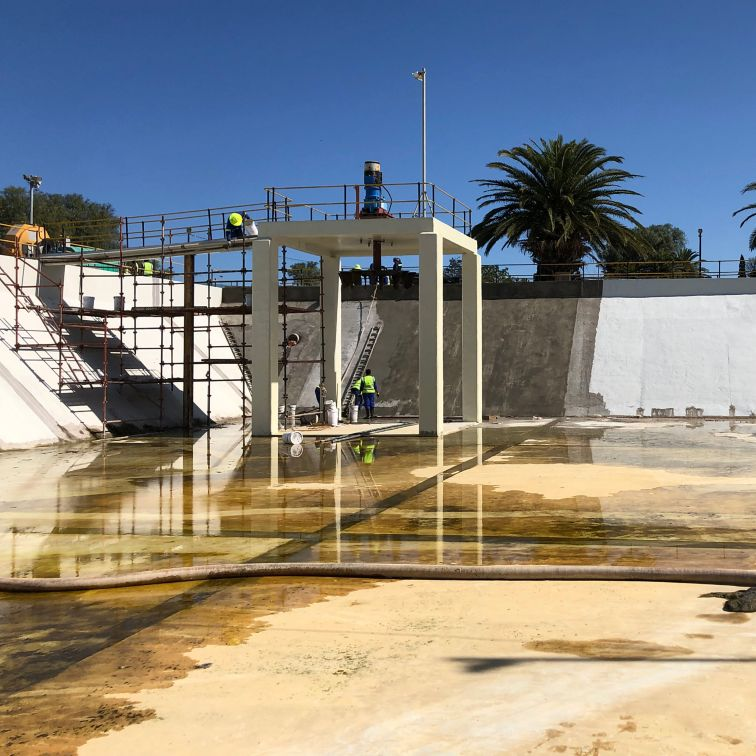 Kwanobuhle Wastewater treatment refurbishment
