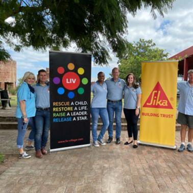 Sika donates to non-profit organisation - LIV