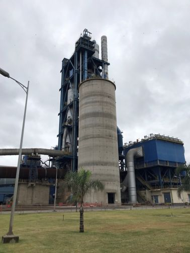 Structural repairs, crack injection and waterproofing carried out on the Mamba Cement Silo in Limpopo.