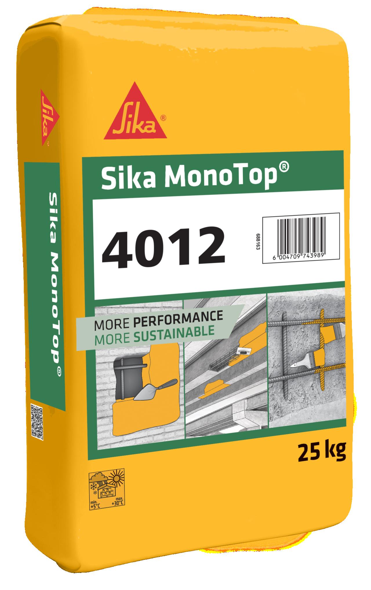 Sika MonoTop® -4012 Concrete repair Mortar