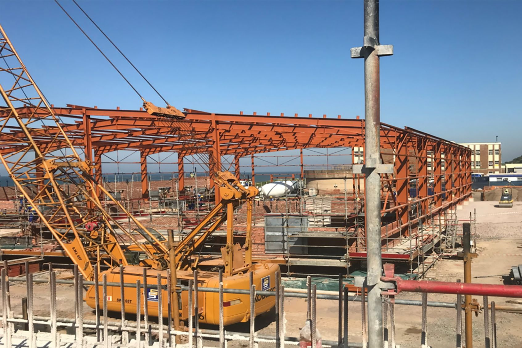 Sika's specialized products were specified for eThekwini's central wastewater treatment works, first-of-its-kind, remix plant in the Bluff, Durban.