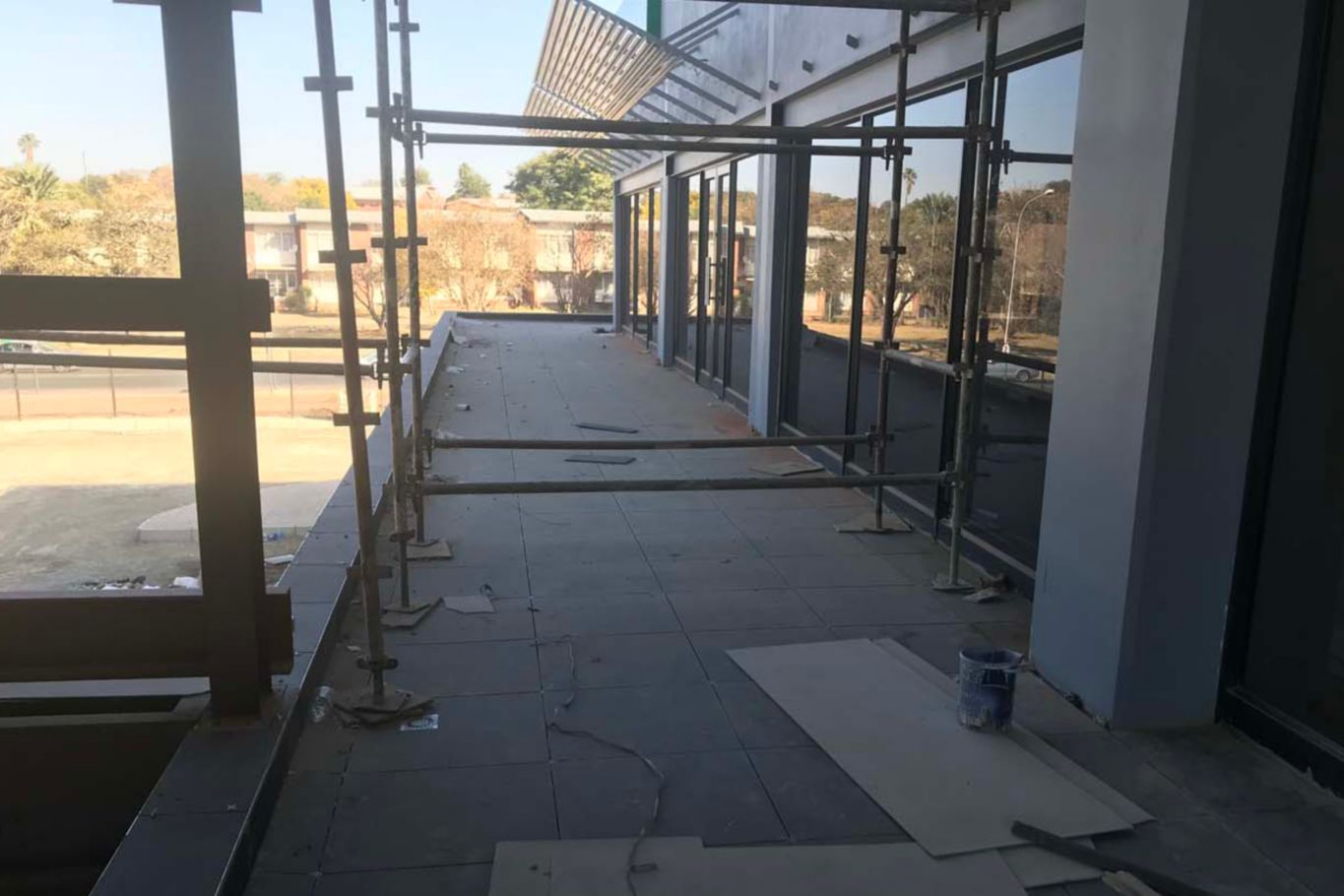 Sika's Tile Adhesive range covers floor and wall tile areas of The Square Shopping Mall in Ladysmith.